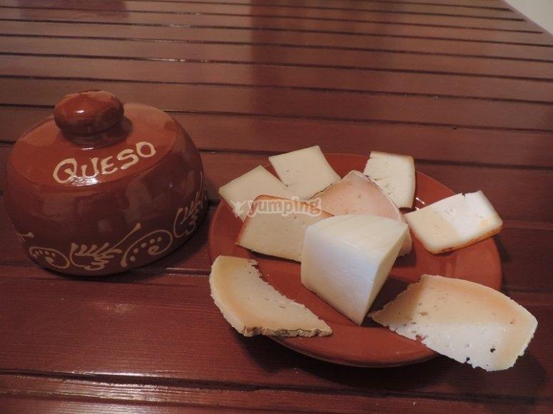Degustación de quesos