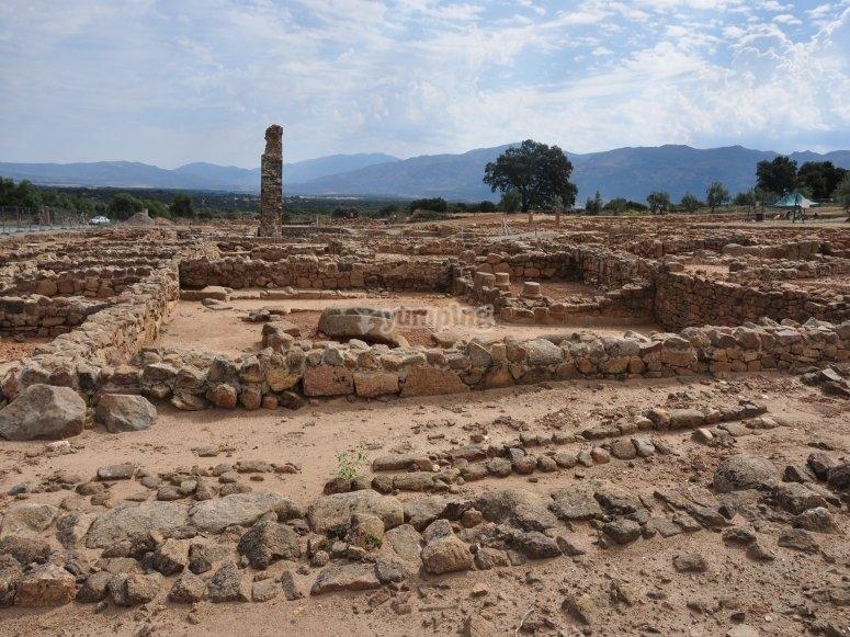 Restos arqueologicos de Caparra