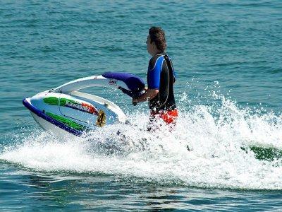 Excursión en moto de agua en Canarias 2 horas