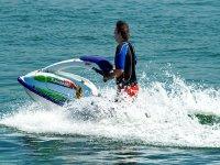 Paseo en moto de agua en Canarias