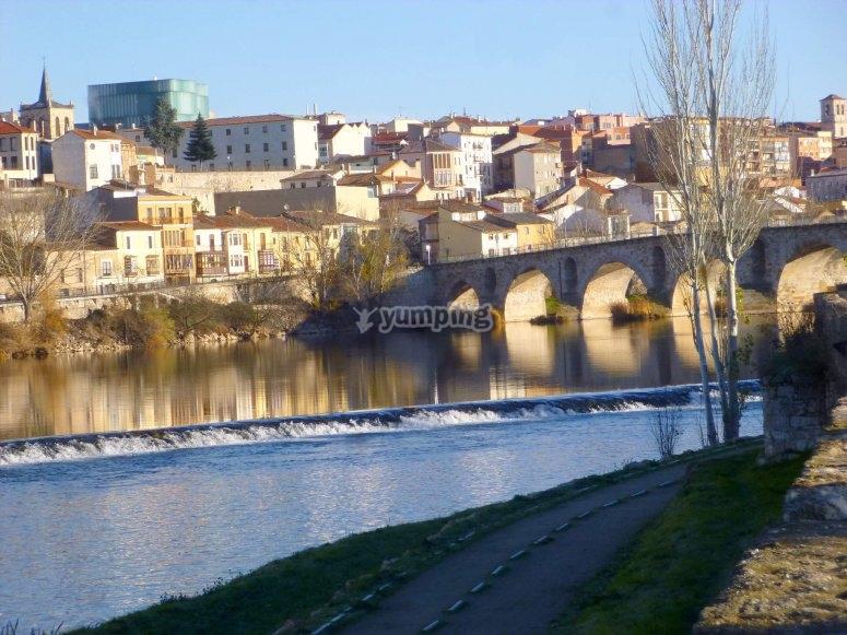Vistas de la ciudad aragonesa