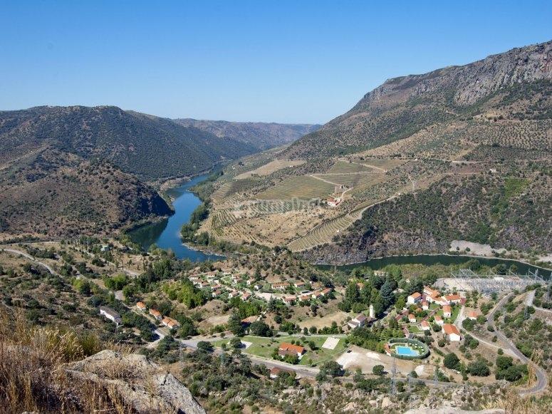 El rio Duero desde las alturas
