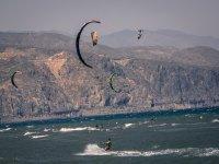 Horizonte de kitesurf