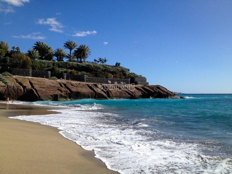 En un pequeño paraiso de Canarias