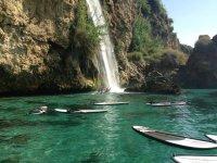 Acantilados y paddle surf