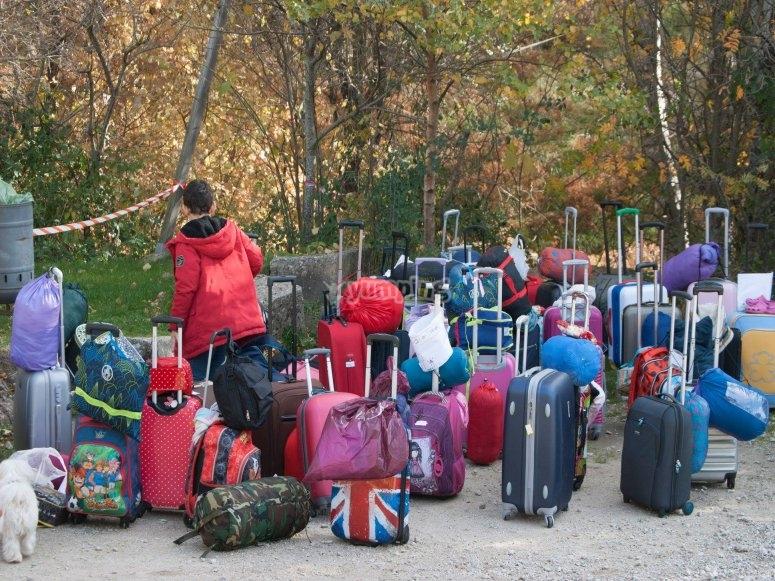Las maletas de nuestros alumnos