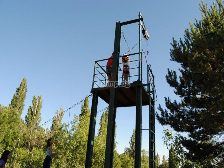 Torre de la tirolina
