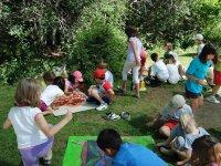 Campamento fútbol e inglés en Bustarviejo 8 días