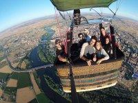 Balloon flight + lunch Palencia 1h