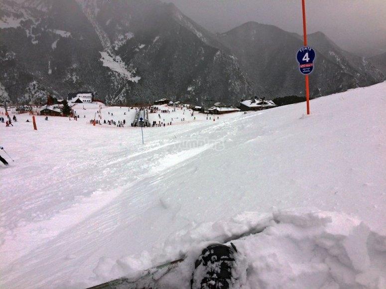 Aprovecha la nieve