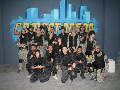 Laser tag match for team building,1 h
