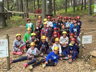 Circuito infantil en La Albuerca con 17 retos