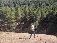 服从救生索的攀登
