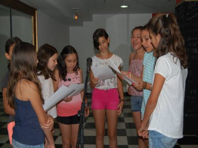 Campo musicale per bambini a Madrid 12 giorni