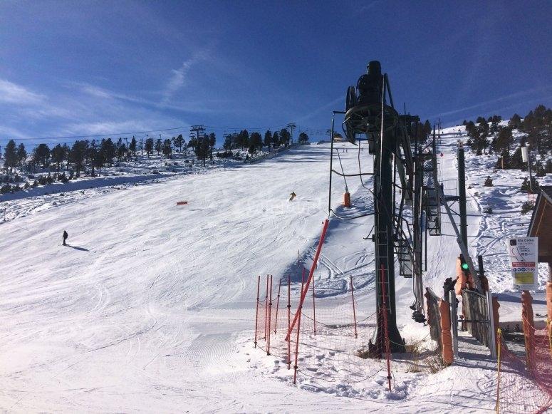 Esquiando en Pal Arinsal