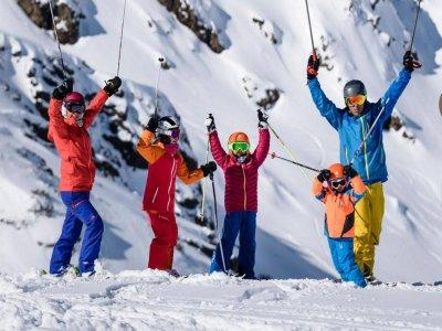 Clases esquí en Pal Arisal en Semana Santa adulto