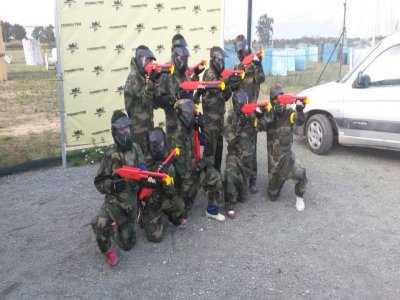 Paintball session for kids with 200 balls Utrera