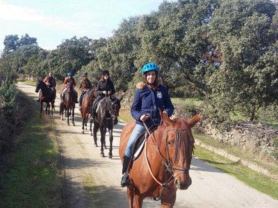 Paseo a caballo por Valle del Tiétar de 2 horas