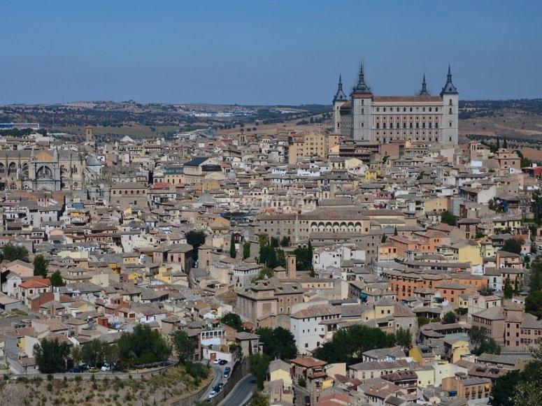 Vistas de la ciudad de Toledo