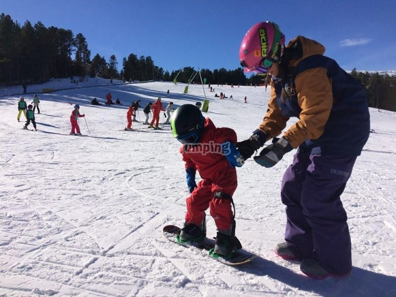 Pista de snowboard