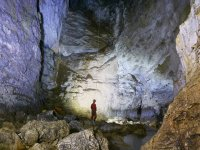 The great rooms of the cave