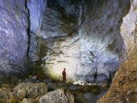 Las grandes salas  de la cueva