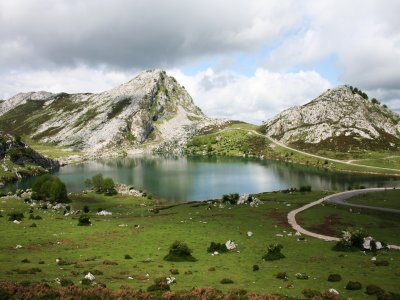Guided route allong Covadonga lakes and Basilica