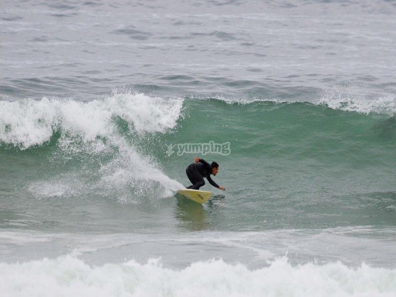 所有的冲浪材料练习