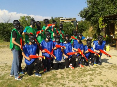 Paintball game for a birthday in Caldes 2h