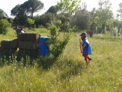 儿童彩弹射击在Caldes de Montbui 1小时