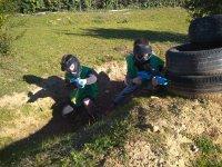 儿童彩弹射击在Caldes de Montbui 1h 30min