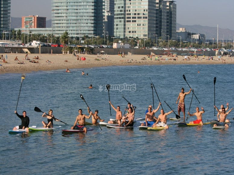 提高你的划桨冲浪技巧