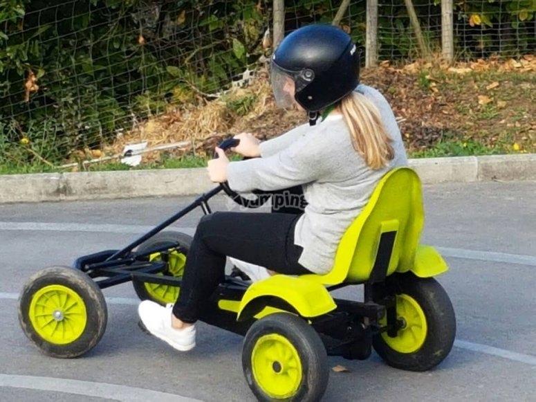Kart con pedali