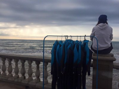 氯丁橡胶在巴塞罗那的水上运动