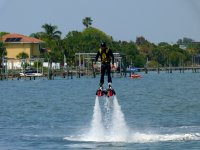 Flyboarding in Chipiona