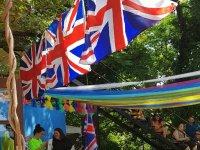 Fiestas inglesas en el campamento hípico