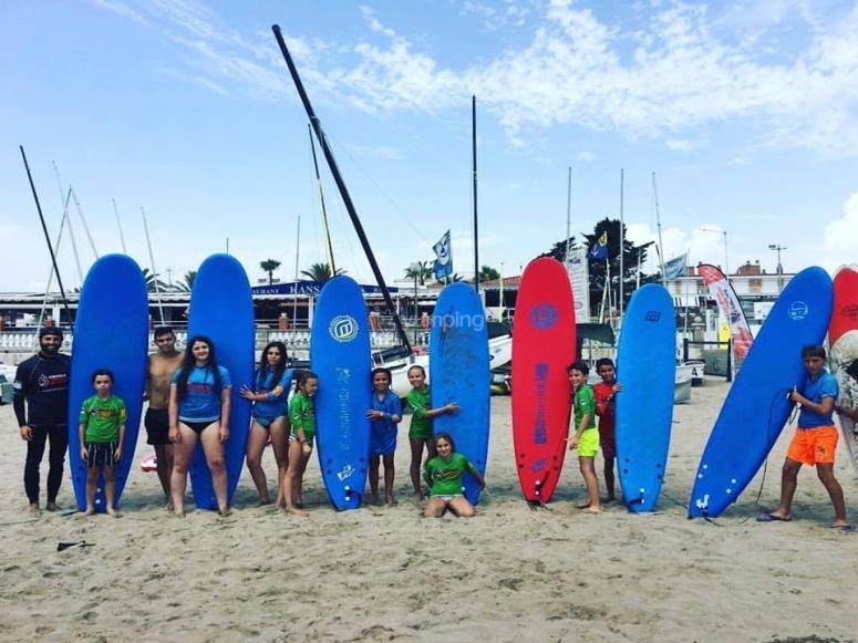 Equipo de surf para todos