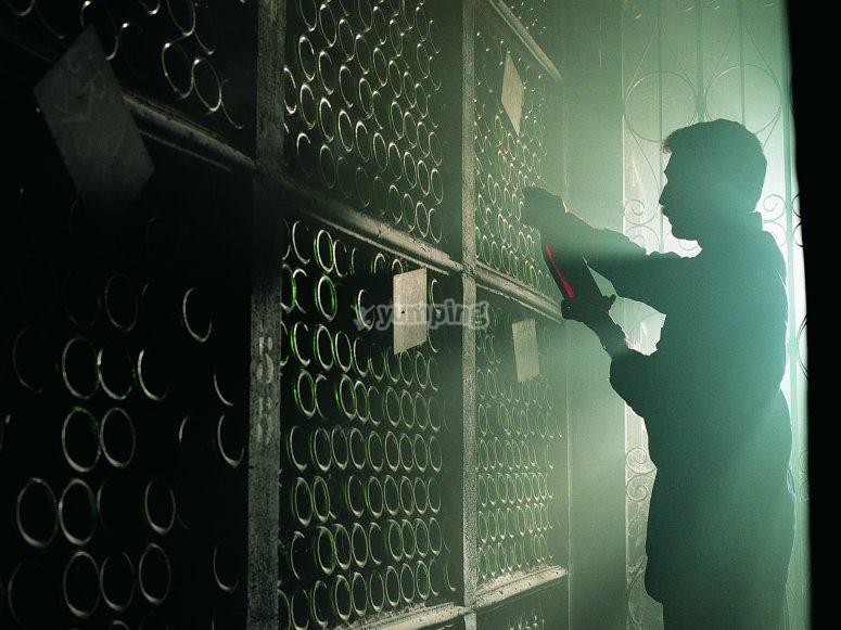 Seleccionando los mejores vinos
