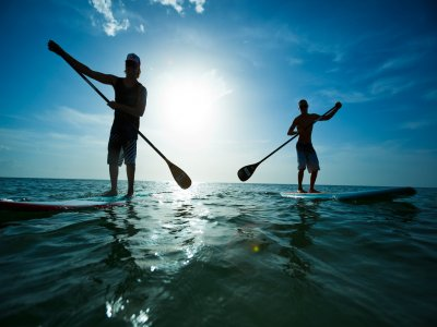 Stand Up Paddle Surfing Lesson 1h 30min, Sitges