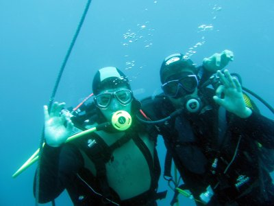 Diving baptism close to Motril