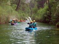 Descendiendo el rio