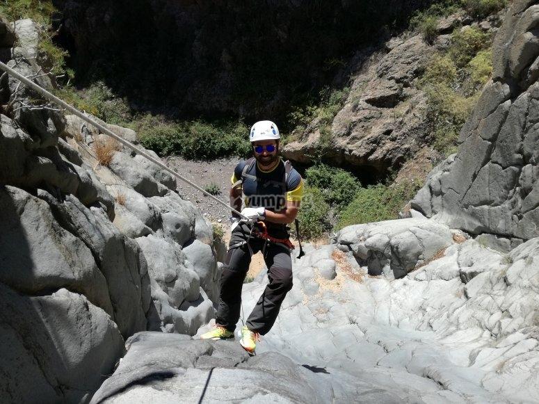 峡谷中的拉普尔
