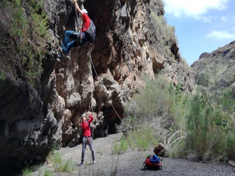 干燥的峡谷