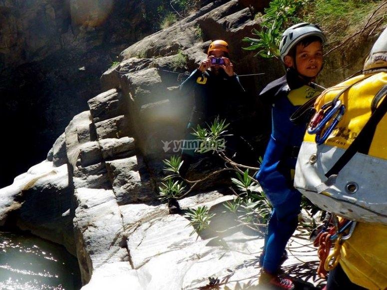 Ravine descent Almanchares