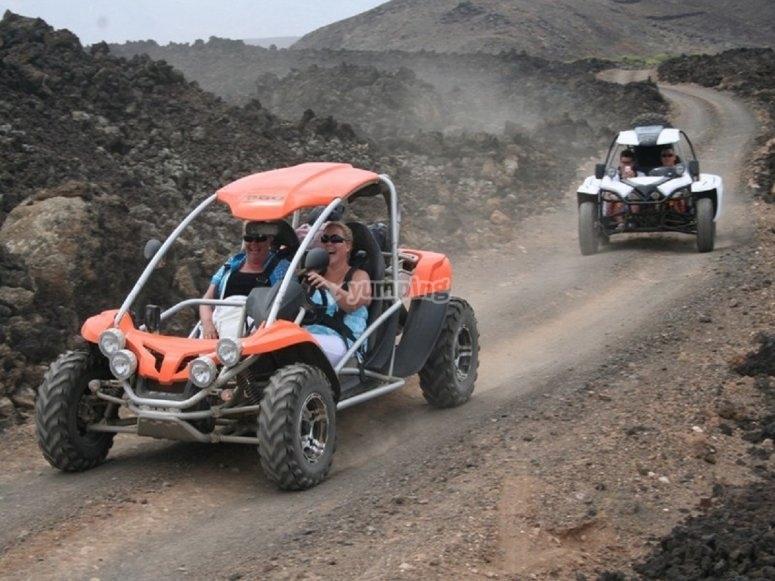 Velocidad y diversion en el Corralejo