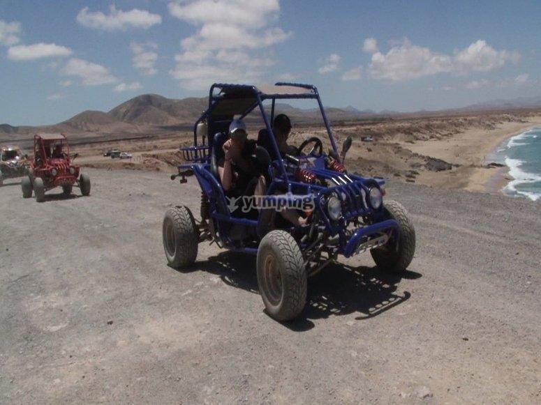 Dia esplendido conociendo Fuerteventura