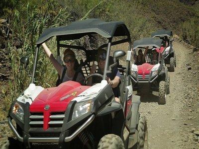 Ruta en jeep descapotable en sur de Gran Canaria