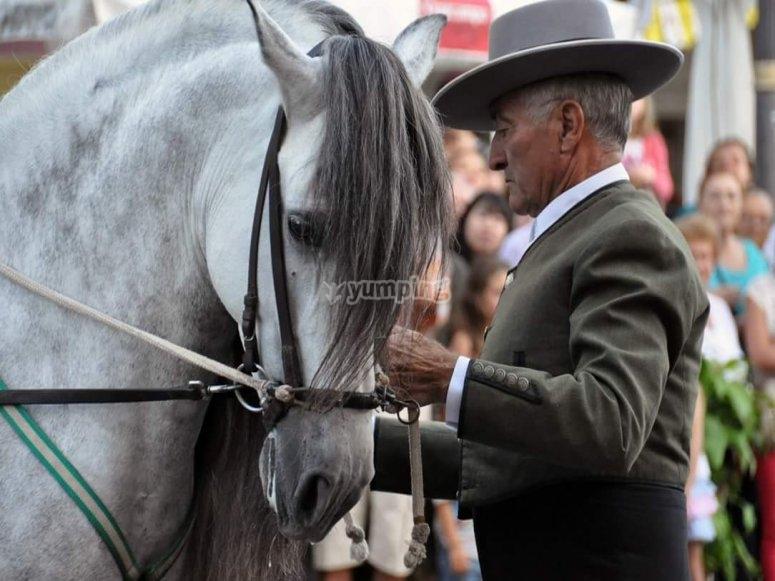 Tecnicas de equitacion tradicionales