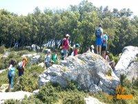 bambini escursioni nella natura
