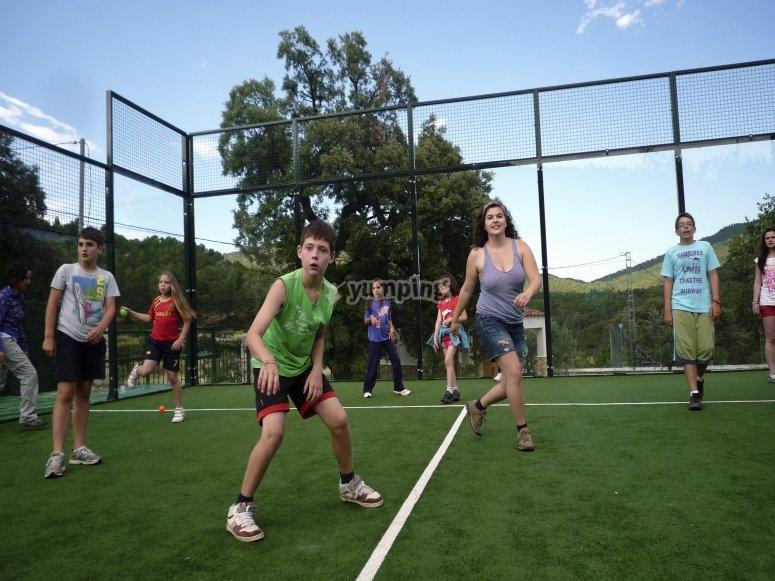 Disfrutando del deporte